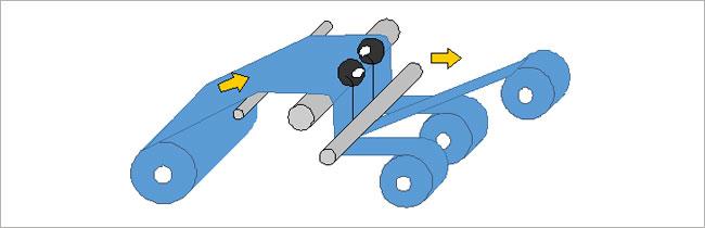 スリット加工の図